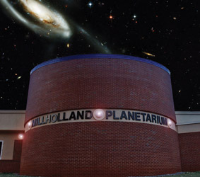Planetarium Sign